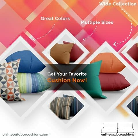 online outdoor cushions